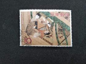 日本邮票(人物):1964 集邮周 1套1枚