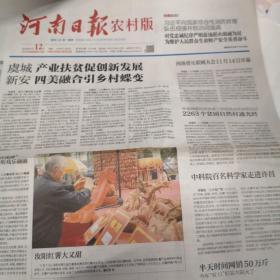 河南日报(农村版)2018年11月12日
