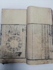 《钦定协纪辨方书》卷三,清代木刻本,多幅图画,经典风水、周易、择日书。