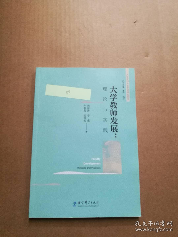 大学教师专业发展研究丛书:大学教师发展:理论与实践