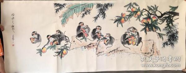 李燕        純手繪          國畫        (賣家包郵)工藝品