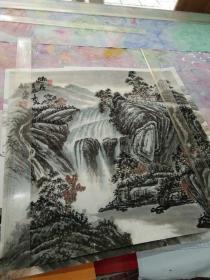 中美协会员、中书协会员刘怀勇(保真)
