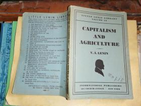 CAPITALISM AND AGRICULTURE资本主义和农业    [1946年 纽约原版】