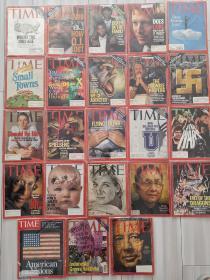 【23本合售】Time magazine 时代周刊 1997年23册不重复