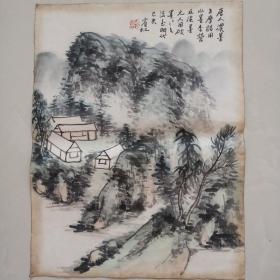 10.7黄宾虹精品山水画