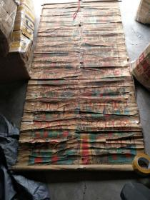 清代到民国时期水陆画《密密麻麻的神仙》一米五到一米八高度,宽度60到80厘米原装古画一批
