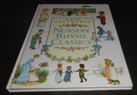 2手英文 Kate Greenaway Nursery Rhyme Classics 童谣集 著名女插画家凯特·格林纳威插图本 sfa79