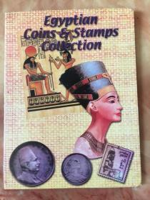 Egyptian Coins & Stamps Collection 埃及硬币和邮票各12枚