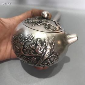 纯银茶壶08975