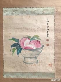 袁克定         純手繪          國畫        (賣家包郵)工藝品