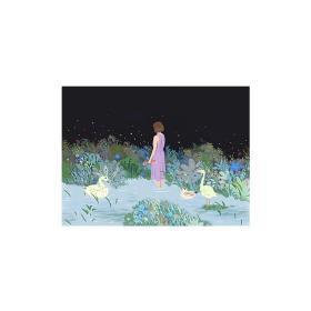 《凌晨四点花未眠》33×25cm 数码版画 0.74平尺