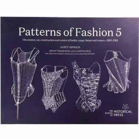 复古宫廷礼服构造设计 图案花纹 Patterns of Fashion5