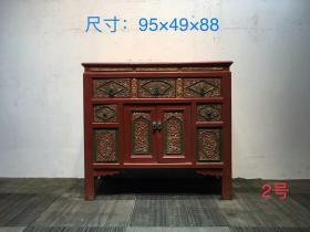 解放时期,楠木书柜