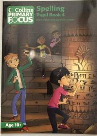 平装Collins Primary Focus – Spelling: Pupil Book 4 柯林斯主焦点:学生手册4