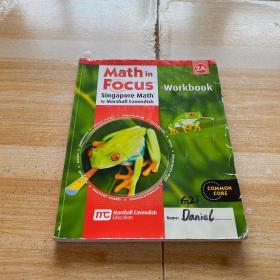 Math in focus singapore math by marshall cavendish 2A(内有笔记划线)