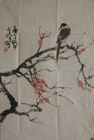 《包手绘》中国美术家协会会员孙其峰先生花鸟国画