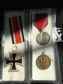 二战德国勋章徽章3个