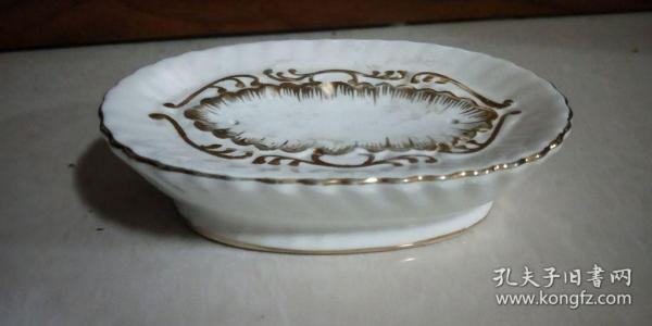 歐式復古陶瓷香皂盒創意瀝水肥皂盒皂托皂碟
