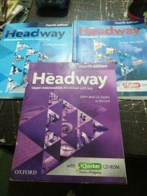 Headway 三本合售带光盘