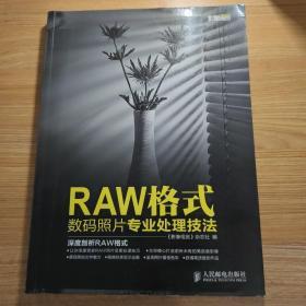 RAW格式数码照片专业处理技法