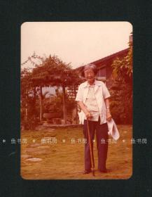 苏雪林亲笔题注 苏雪林照片,古剑旧藏,台湾1980年代 原版老照片,安徽乡贤墨宝影像文献