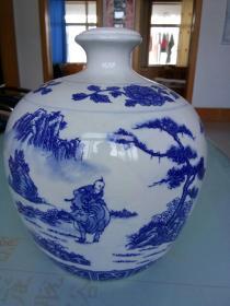 景德镇陶瓷大酒瓶(大花瓶)