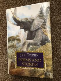 预售绝版托尔金的诗歌与故事 美版94年版精装 tolkien POEMS AND STORIES