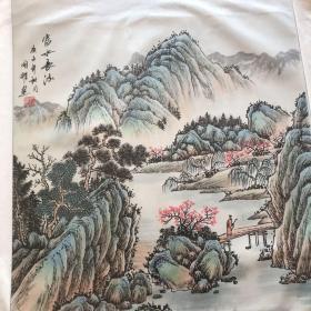 中国书画家创作中心一级美术师,中国书法美术家协会理事,周国耀老师作品 山水