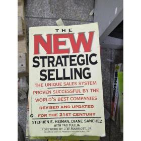 特价~特价!【原版英文】The New Strategic Selling:The Unique