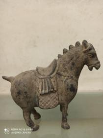 古玩收藏铜器铜马 马马摆件马到成功摆件