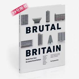 Brutal Britain: Build Your Own Brutalist Great Britain 纸模