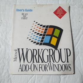 Microsoft  WORKGROUP  ADD - ON FOR WINDOWS