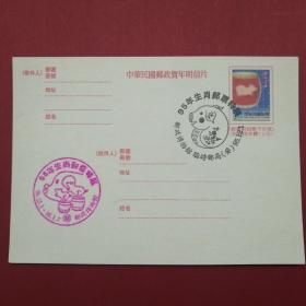 1995《邮政博物馆生肖邮票特展》纪念明信片