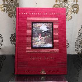 Hans Christian Andersen Fairy Tales 安徒生童话 everymans library CHILDREN'S CLASSICS 人人文库 儿童经典系列 英文原版 布面封皮琐线装订 丝带标记 内页无酸纸可以保存几百年不泛黄