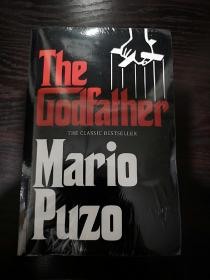 The Godfather  教父英文版,封面有勒痕,无笔记无划线,包邮