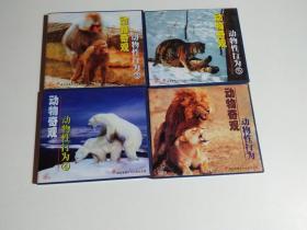 动物性行为(4碟装)光盘有一点划痕