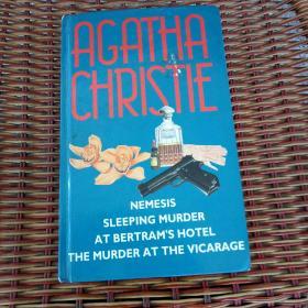 Nemesis & Sleeping murder & At Bertram's hotel & The murder at the vicarage (阿加莎经典著作四合一本)