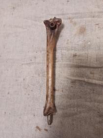 老骨头铜嘴一口烟锅
