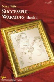 V83S - Successful Warmups Book 1 Singers Edition-V83S-成功热身第1册歌手版
