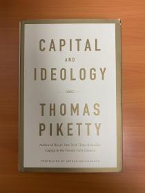精装英文原版 Capital and Ideology Thomas Piketty [英文]《资本与意识形态》 托马斯皮凯蒂作品(Thomas Piketty)[纽约时报畅销书]