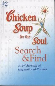 B00YZMS1F0 Chicken Soup for the Soul Search and Find A 2nd Serving of Inspirational Puzzles by John T. Canfield and Hansen (2008) Paperback-灵魂搜索用鸡汤,找到第二份灵感拼图。。。