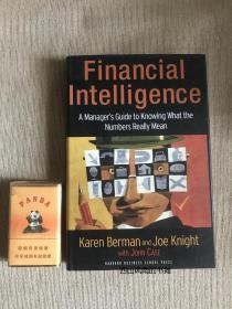 英文原版精装 三面刷金  finacial intelligence  财务智慧:如何理解数字的真正含义