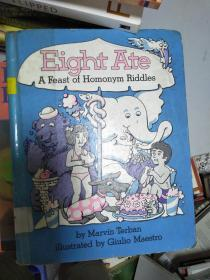 特价~Eight Ate : A Feast of Homonym Riddles