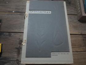 《上海博物館藏甲骨文字》上下   連外盒套