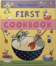 精装 菜谱 First Cookbook Hc第一本食谱
