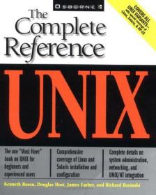 Unix:The Complete Reference