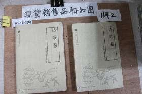 湖北大众文艺丛书2016 诗歌卷1,2两本合售