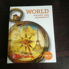WORLD history and geography原版英文书