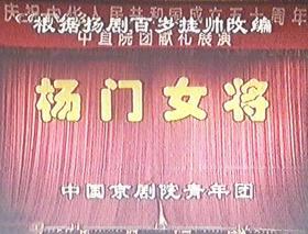 京剧录像带《杨门女将》1999年演出,邓敏袁慧琴张建国主演。