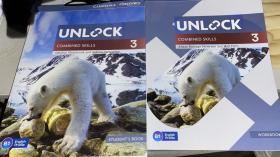 剑桥英语Unlock combined skills-3(课本+练习册)
